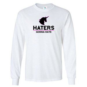 Youth Kids HATERS T-Shirt Long Sleeve